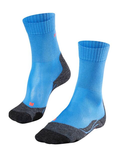 Falke TK2 Cool Trekking Socks Women blue note
